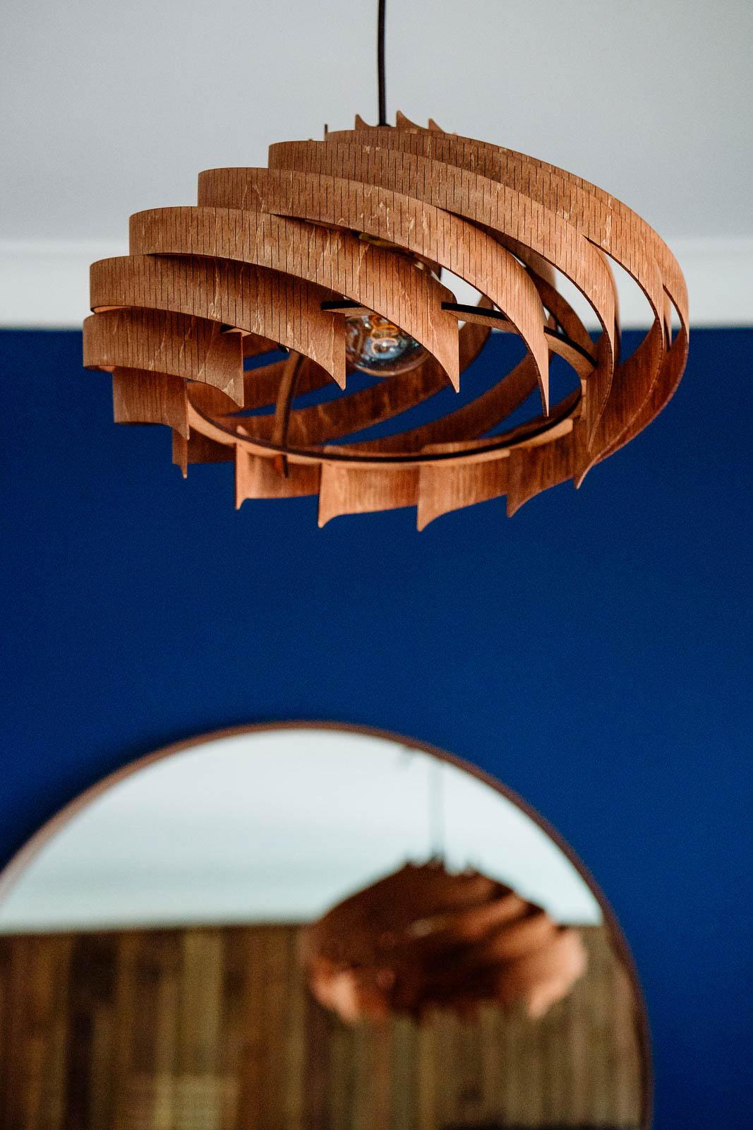 interior design plywood lampshade